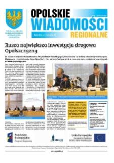 Opolskie Wiadomości Regionalne : publikacja Urzędu Marszałkowskiego Województwa Opolskiego 2016, nr 3 (134).