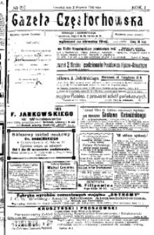 Gazeta Częstochowska, 1909, R. 1, No 29