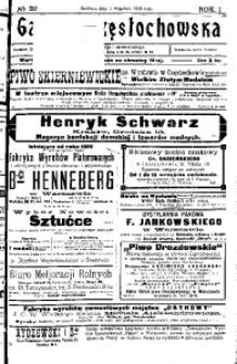 Gazeta Częstochowska, 1909, R. 1, No 32