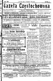 Gazeta Częstochowska, 1909, R. 1, No 36