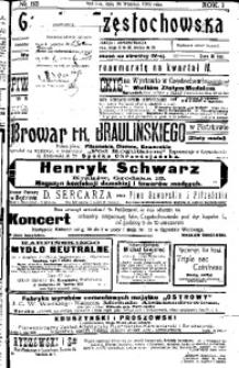Gazeta Częstochowska, 1909, R. 1, No 53