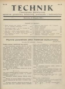 Technik, 1929, R. 2, nr 22
