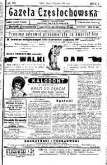 Gazeta Częstochowska, 1909, R. 1, No 93