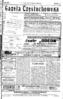 Gazeta Częstochowska, 1909, R. 1, No 127