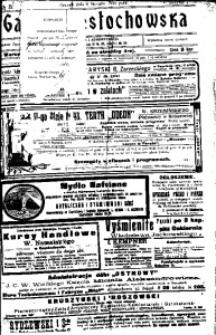 Gazeta Częstochowska, 1910, R. 2, No 5