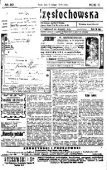 Gazeta Częstochowska, 1910, R. 2, No 32