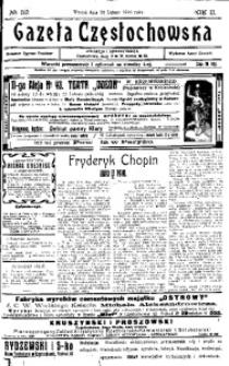 Gazeta Częstochowska, 1910, R. 2, No 52