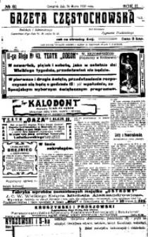 Gazeta Częstochowska, 1910, R. 2, No 81