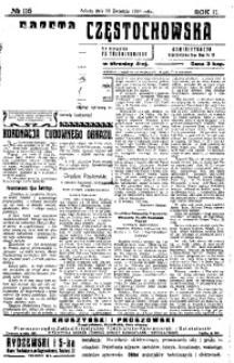 Gazeta Częstochowska, 1910, R. 2, No 115