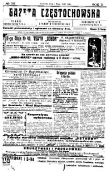 Gazeta Częstochowska, 1910, R. 2, No 116