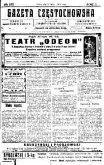 Gazeta Częstochowska, 1910, R. 2, No 135