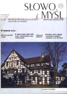 Słowo i Myśl, 2008, Nr 2