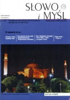 Słowo i Myśl, 2008, Nr 4