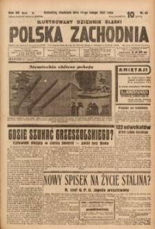Polska Zachodnia, 1937, R. 12, nr 45