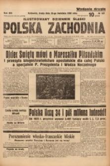 Polska Zachodnia, 1938, R. 13, nr 107