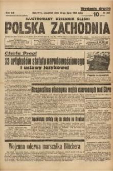 Polska Zachodnia, 1938, R. 13, nr 205