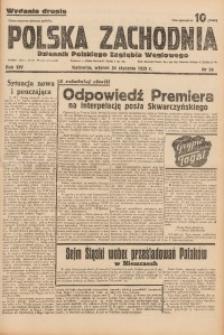 Polska Zachodnia, 1939, R. 14, nr 24