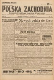 Polska Zachodnia, 1939, R. 14, nr 71