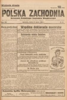 Polska Zachodnia, 1939, R. 14, nr 81