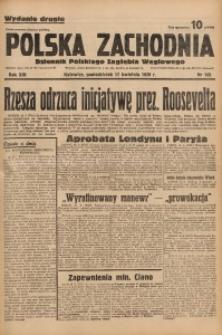 Polska Zachodnia, 1939, R. 14, nr 105