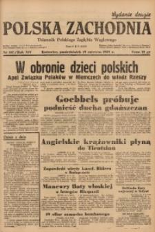 Polska Zachodnia, 1939, R. 14, nr 167