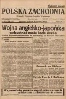 Polska Zachodnia, 1939, R. 14, nr 173