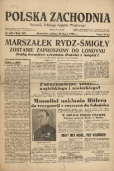 Polska Zachodnia, 1939, R. 14, nr 200