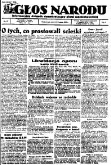 Głos Narodu, 1945, R. 1, Nr. 27