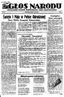 Głos Narodu, 1945, R. 1, Nr. 66