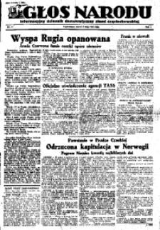 Głos Narodu, 1945, R. 1, Nr. 71
