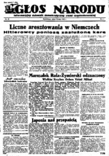 Głos Narodu, 1945, R. 1, Nr. 80