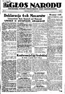 Głos Narodu, 1945, R. 1, Nr. 94