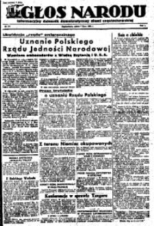 Głos Narodu, 1945, R. 1, Nr. 119