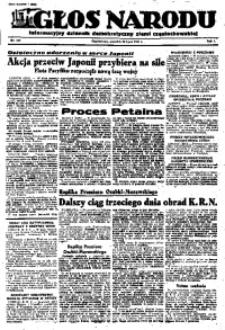 Głos Narodu, 1945, R. 1, Nr. 134