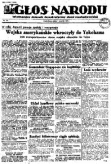Głos Narodu, 1945, R. 1, Nr. 165