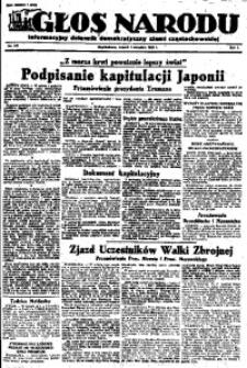 Głos Narodu, 1945, R. 1, Nr. 167