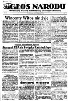 Głos Narodu, 1945, R. 1, Nr. 218
