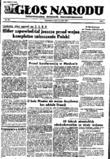 Głos Narodu, 1945, R. 1, Nr. 250