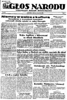Głos Narodu, 1945, R. 1, Nr. 257
