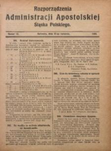 Rozporządzenia Administracji Śląska Polskiego, 1924, R. 1, nr 16