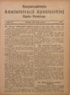 Rozporządzenia Administracji Śląska Polskiego, 1924, R. 1, nr 17