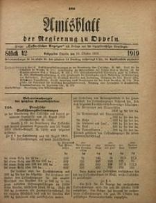 Amtsblatt der Regierung zu Oppeln, 1919, Bd. 104, St. 42