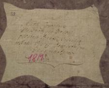 Księga urodzeń Pilica – wieś 1814