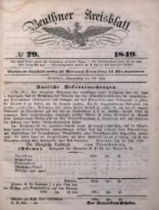 Beuthner Kreisblatt, 1849, No 29