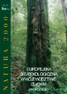 Natura 2000. Europejska sieć ekologiczna w województwie śląskim (propozycje)