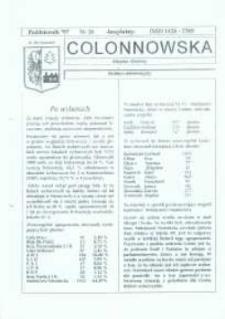 Colonnowska : miejsko-gminny biuletyn informacyjny 1997, nr 26.