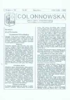 Colonnowska : miejsko-gminny biuletyn informacyjny 1998, nr 36.