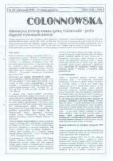 Colonnowska : miejsko-gminny biuletyn informacyjny 1999, nr 48 [50]. Wydanie specjalne.
