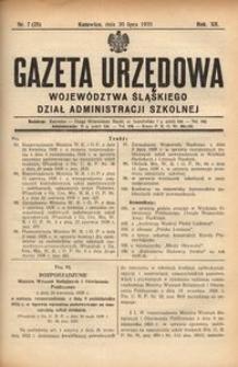 Dział Administracji Szkolnej, 1935, R. 12, nr 7 (25)