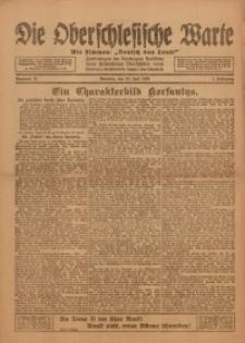 Die Oberschlesische Warte, 1920, Nr 21